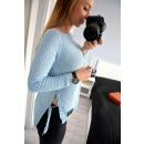 wholesale Pullover & Sweatshirts:Sweater, tie, uni, blue