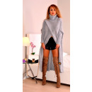 wholesale Fashion & Apparel: Long sweater,  cardigan, golf, producer, gray