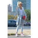 groothandel Kleding & Fashion: Dikke vest trui knoppen producent lichtgrijs