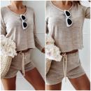 wholesale Shirts & Blouses: Set, blouse, skirt, PREMIUM, beige