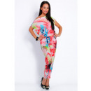 wholesale Trousers: The suit floral,  spring, summer, red, uni