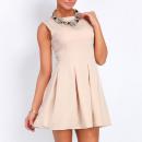 ingrosso Ingrosso Abbigliamento & Accessori: abito bellezza,  svasato, beige, SML XL