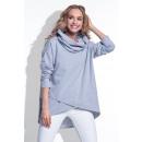 ingrosso Ingrosso Abbigliamento & Accessori: Camicetta,  asimmetrica, produttore, grigio