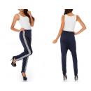 grossiste Sports & Loisirs: Pantalon ample, bleu foncé, oversize