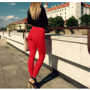 wholesale Food & Beverage: Heart leggings, high quality, manufacturer, red