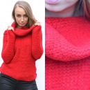 wholesale Fashion & Apparel: Sweater, golf, warm, fat, red