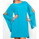 Großhandel Fashion & Accessoires: Tunika Chiffon  mini, Sommer, Meer, unisize
