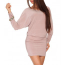 groothandel Kleding & Fashion: Jurk, tuniek,  losse, beige, unisize