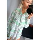 Sweater, cardigan,  quilt, patterns, uni green