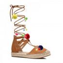 wholesale Shoes: FOOTWEAR SHOES  SANDALS Roman women camel