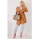 wholesale Coats & Jackets: Coat fleece, spring, brown