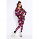 groothandel Fournituren & naaigerei: Camouflage  overalls, hoge kwaliteit, uni, roze