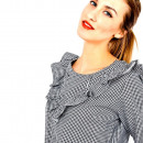 wholesale Shirts & Blouses: Plaid shirt, valance, producer
