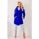 wholesale Coats & Jackets: Coat fleece, spring, cornflower