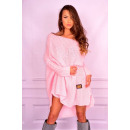 Sweater, a new  collection of long, quality, pink,