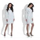 Großhandel Kleider: Elegantes Kleid, weiblich, Produzent, weiß