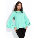 Großhandel Hemden & Blusen: Bluse, Stickerei, Volant, Qualität, Produzent, Min