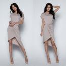 wholesale Fashion & Apparel: dress,  asymmetrical, quality, mocca