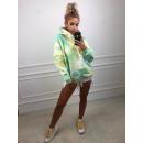 wholesale Pullover & Sweatshirts: Colorful TIE DYE hoodie, quality, model 2