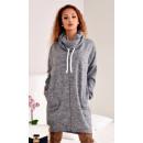 wholesale Dresses: Zip chimney,  dress, tunic, graphite
