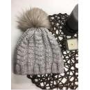 wholesale Headgear: Braided cap,  tassel, producer, beige
