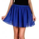 Großhandel Röcke: Minirock, luftig, Sommer, Kornblume, unisize