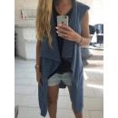 Vest, Unterhemd, Pullover, Mantel, Jeans uni