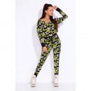 groothandel Fournituren & naaigerei: Camouflage  overalls, hoge kwaliteit, uni, geel