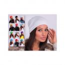 Großhandel Kopfbedeckung: Mütze, Farbe, unisize, Viskose, mischen
