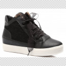SHOES BLACK WOMEN sneakers TRAMPKI