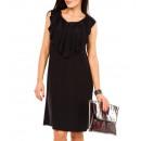 ingrosso Ingrosso Abbigliamento & Accessori: Abito, balza alla  scollatura, nero, unisize