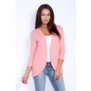 Großhandel Fashion & Accessoires: Cape Sweatshirt,  Strickjacke, uni, Aprikose