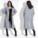 wholesale Pullover & Sweatshirts: cardigan, sweater, pockets, long, quality, gray