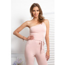 wholesale Trousers: Coverall, binding, DE LUX, summer, pink