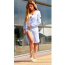 ingrosso Ingrosso Abbigliamento & Accessori: Felpa con  cappuccio, giacca, cardigan, blu