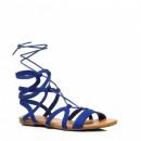 wholesale Shoes: Shoes, sandals,  Roman women knotted blue