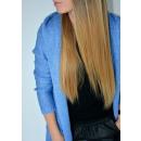 long pull, gilet, capuche, qualité, bleu