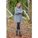 Großhandel Kleider: Pullover, Kleid, Tunika DE LUX, grau