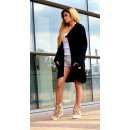 Hoodie, jas, hoge kwaliteit, zwart