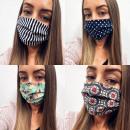 Großhandel Drogerie & Kosmetik: 10x Gesichtsmaske Baumwolle Qualität