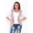 wholesale Coats & Jackets: Vest, cape, producer, quality, cappuccino