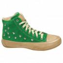 Schuhe,  Turnschuhe, Sterne, Bolzen, grün
