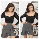 wholesale Skirts: Skirt, valance, PREMIUM, black