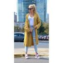wholesale Fashion & Apparel: Sweater long coat cardigan honey braids