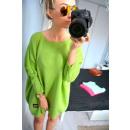 wholesale Pullover & Sweatshirts: Cardigan,  oversize, quality, green