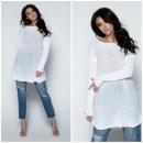 Tuniek, eenvoudig, uni, kwaliteit, fabrikant, wit