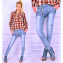 wholesale Jeanswear: Pants with reduced  state, buggy, jeans, tubes