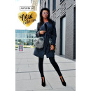 grossiste Vetement et accessoires: Luxury Collection  DE LUX, manteau, graphite