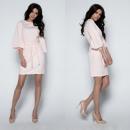 wholesale Dresses: Dress, elegant, belt, quality, pink