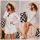 wholesale Dresses: Dress, PREMIUM quality, stripes, white